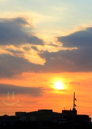 Intramuros sunset